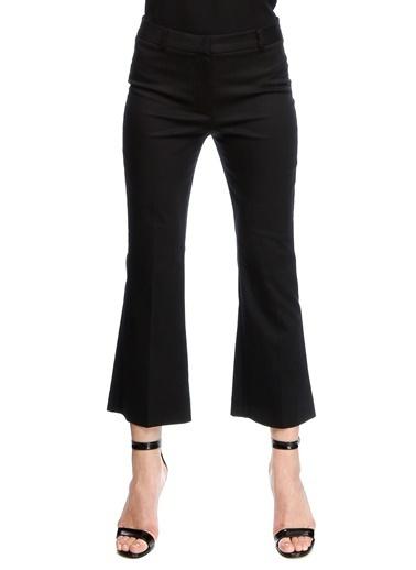 Beymen Studio İspanyol Paça Kumaş Pantolon Siyah